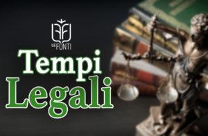 Tempi Legali - by Le Fonti - Gabriele Ventura